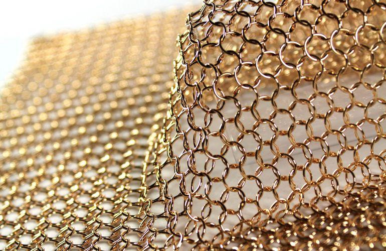 Alphamesh ring 7.0 bronze poliert